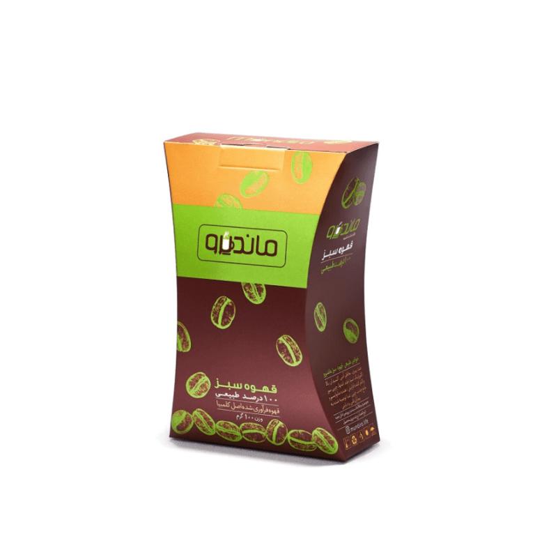قهوه سبز ماندیرو ۱۰۰ گرمی