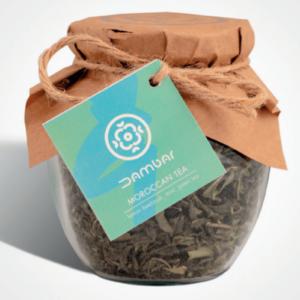 چای سبز مراکشی دم بار