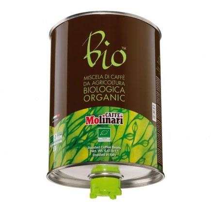 قهوه Molinari bio orgranic صد درصد عربیکا