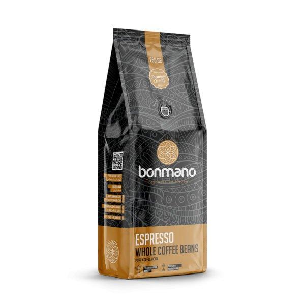 دانه قهوه اسپرسو بن مانو (۲۵۰ گرمی)