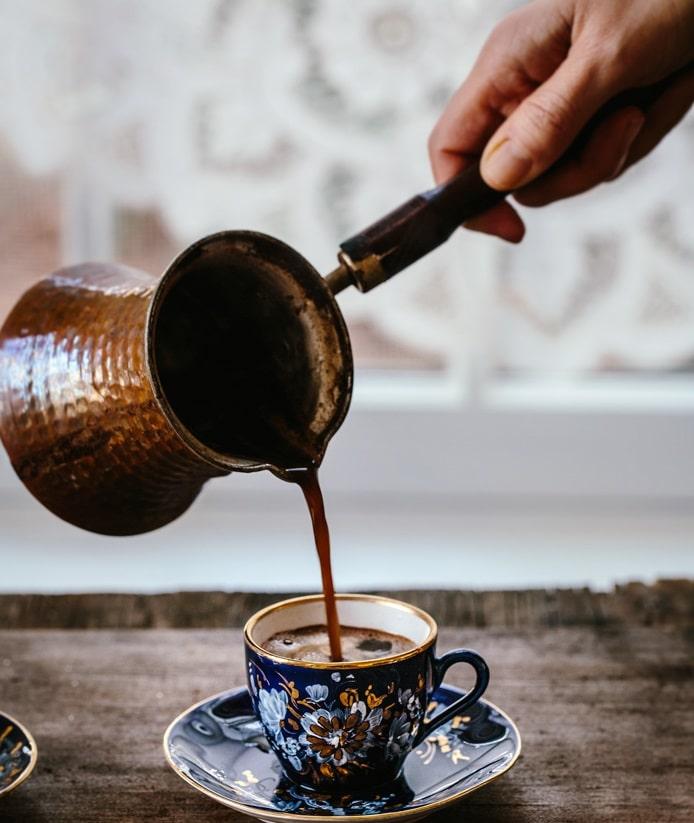 خوردن قهوه بدون اضافه وزن