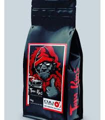 دانه قهوه فول کافئین کولی تام کینز
