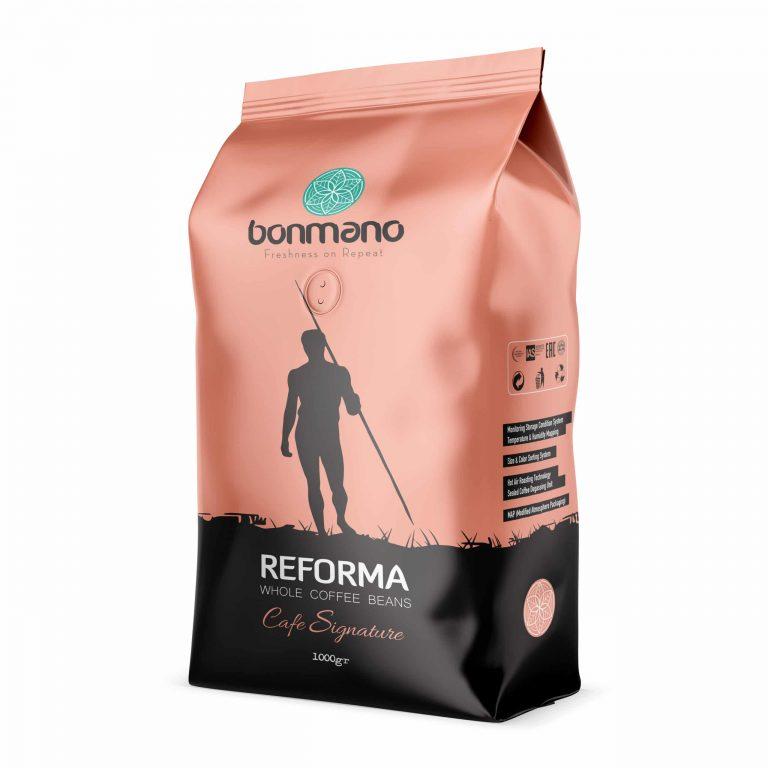 دانه قهوه اسپرسو ریفورما بن مانو (یک کیلویی)