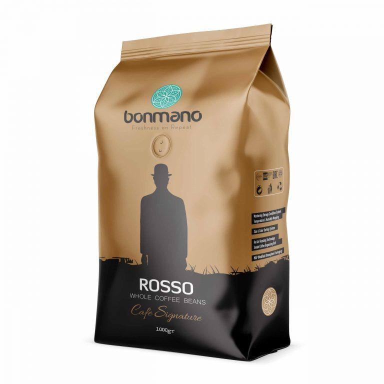 دانه قهوه اسپرسو رسو بن مانو (یک کیلویی)