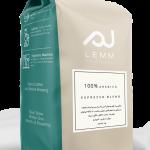 قهوه اسپرسو بلند ۱۰۰٪ عربیکا لم