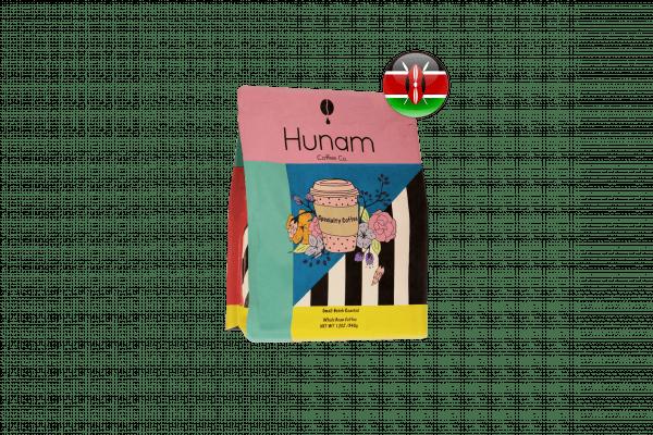 قهوه سینگل اورجین کنیا AA هونام ۳۵۰ گرمی