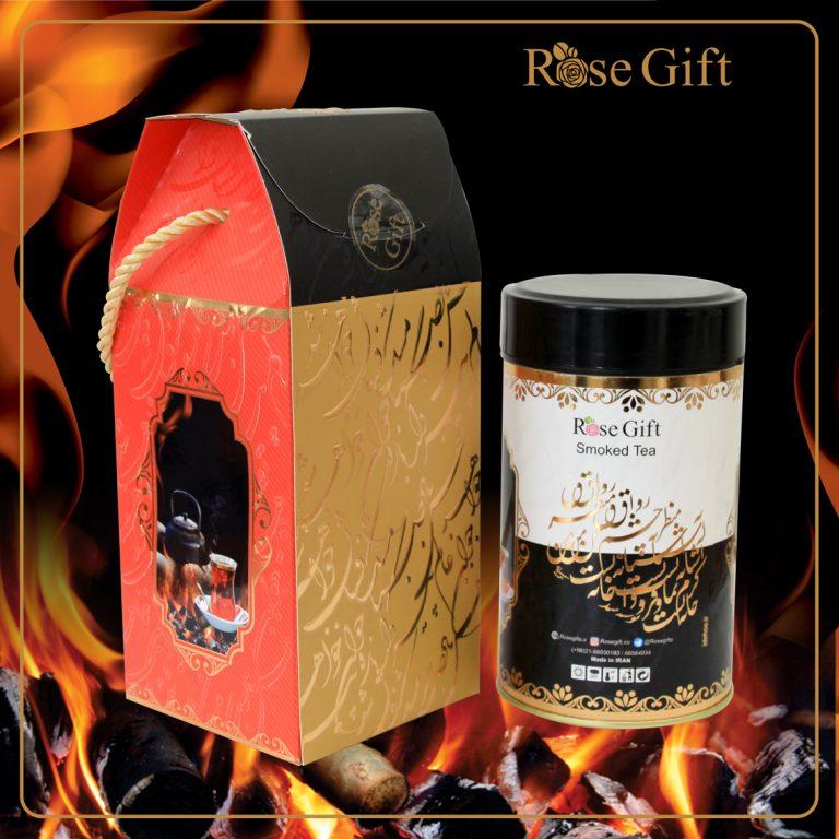چای سیاه دودی رزگیفت با کیفیت بالا و مرغوب