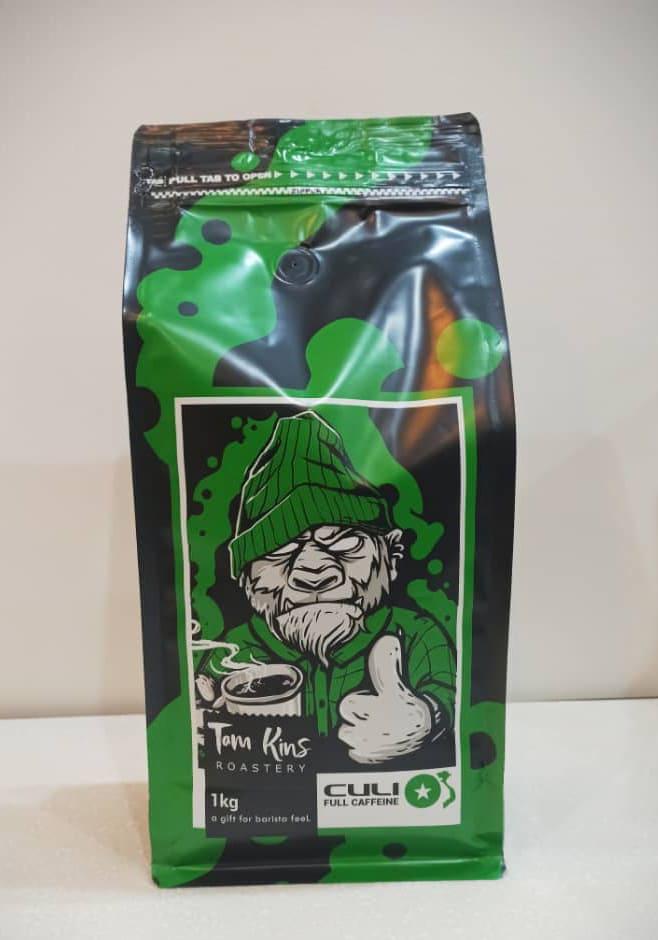 قهوه کولی ربوستا ۷۰٪ تام کینز (یک کیلویی)