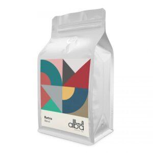 دانه قهوه ترکیب رترو آلبا