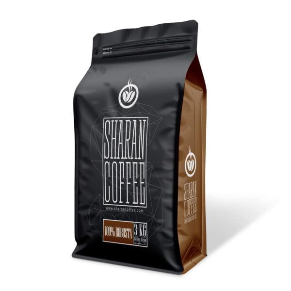 دانه قهوه ساحل عاج شاران (فول کافئین)