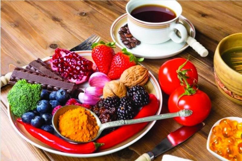 ویتامین و آنتی اکسیدان