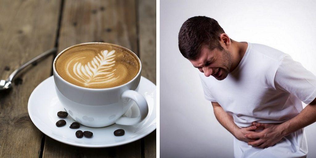قهوه و معده درد