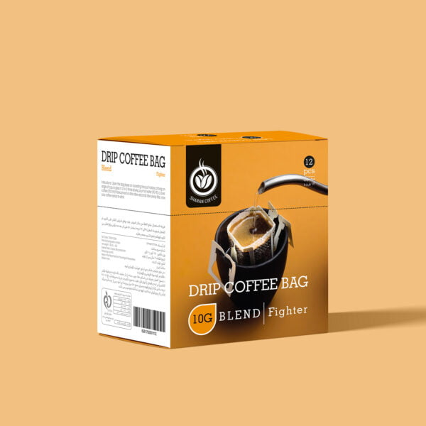 قهوه چکه ای میکس فایتر شاران (۱۲ عددی)