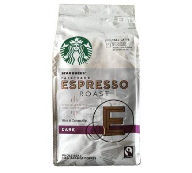 بسته قهوه استارباکس مدل اسپرسو دارک روست (۲۰۰ گرمی)