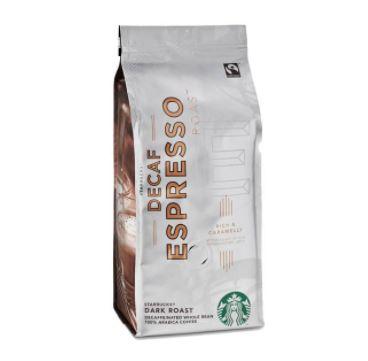 بسته قهوه اسپرسو دیکاف استارباکس
