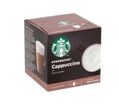 کپسول قهوه کاپوچینو دولچه گوستو استارباکس بسته ۶ عددی