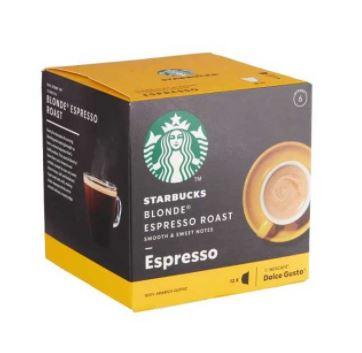 کپسول قهوه بلوند دولچه گوستو استارباکس بسته ۱۲ عددی