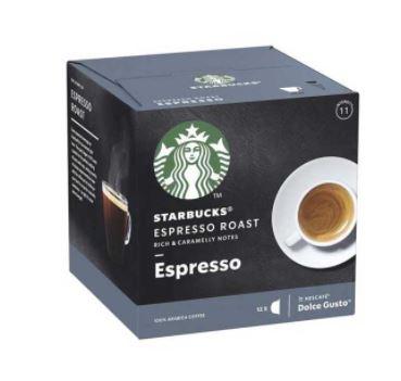 کپسول قهوه اسپرسو دولچه گوستو استارباکس بسته ۱۲ عددی