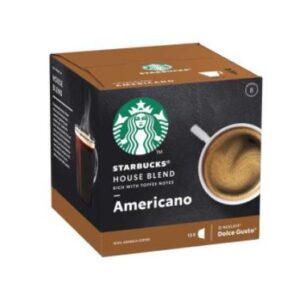 کپسول قهوه ریچ آمریکنو دولچه گوستو استارباکس بسته 12 عددی