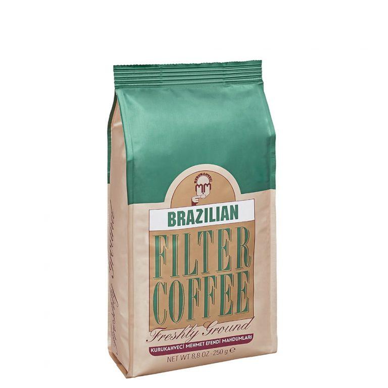 قهوه فیلترشده برزیلی ۲۵۰ گرمی مهمت أفندی