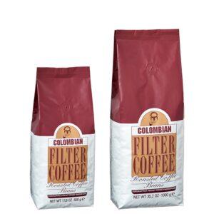 قهوه فیلترشده کلمبیایی 500 گرمی مهمت أفندی