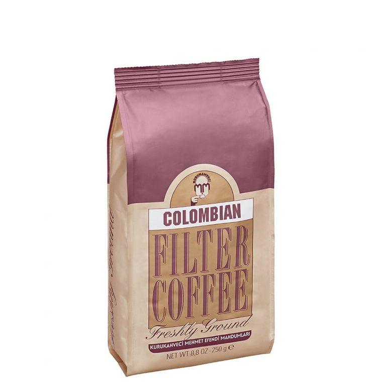 قهوه فیلترشده کلمبیایی ۲۵۰ گرمی مهمت أفندی