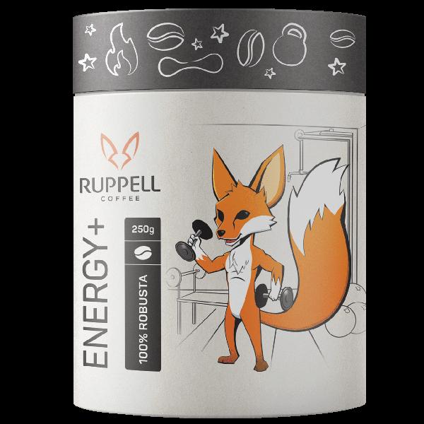 پودر قهوه اسپرسو انرژی پلاس روپل ۱۰۰ درصد ربوستا