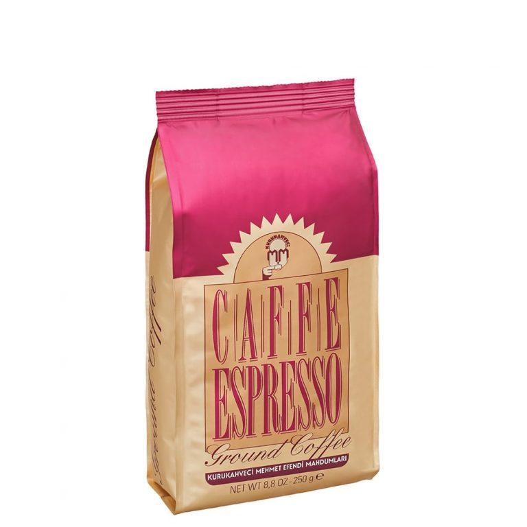 قهوه اسپرسو ۲۵۰ گرمی مهمت أفندی