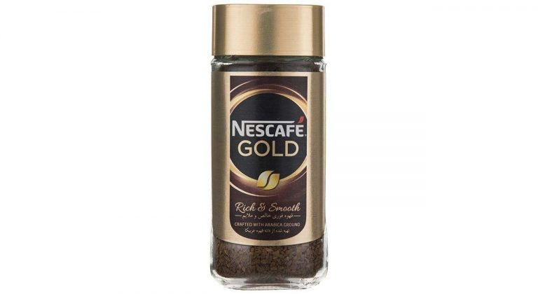 قهوه فوری نسکافه گلد مقدار ۱۰۰ گرم