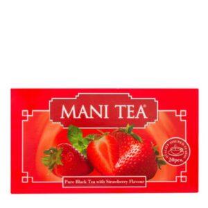 چای توت فرنگی کیسه ای مانی