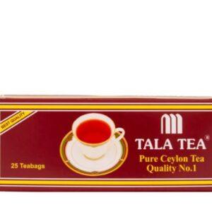چای سیلان کیسه ای 25 تایی طلا