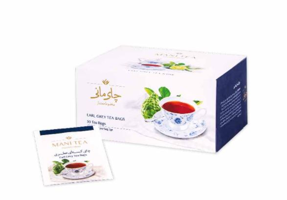 چای کیسه ای عطری ۵۰ عددی مانی