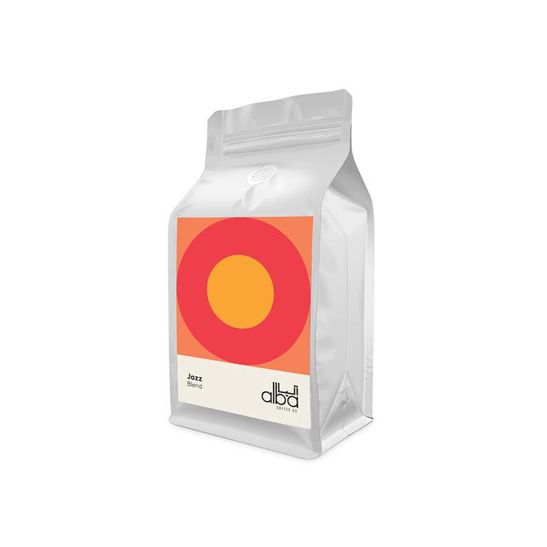 قهوه آلبا ترکیب جز – Jazz Blend (250 گرمی)