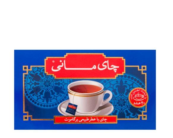 چای ارل گری کیسه ای مانی