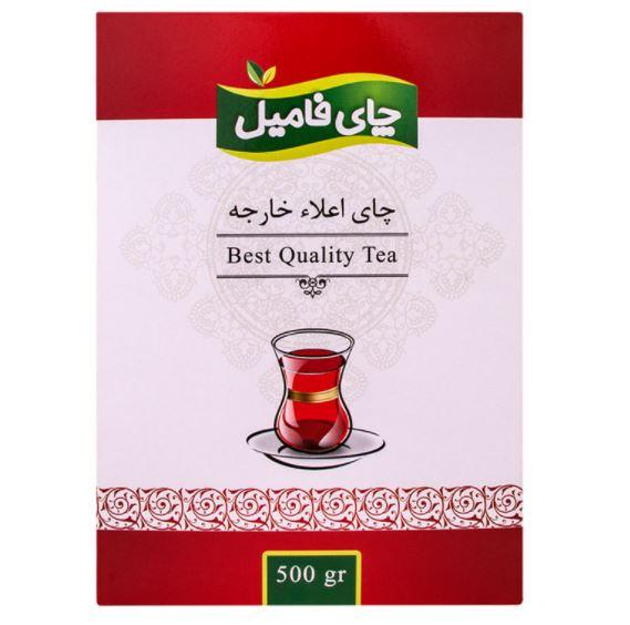 چای خارجه پاکتی فامیل