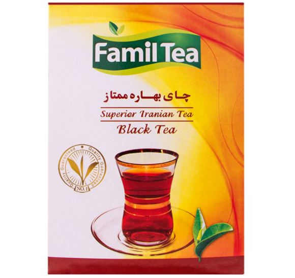 چای ساده پاکتی فامیل