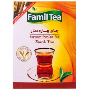چای دارچین پاکتی فامیل