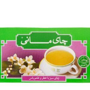 چای سبز یاس کیسه ای مانی