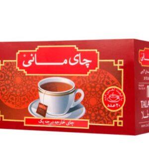 چای ساده کیسه ای مانی