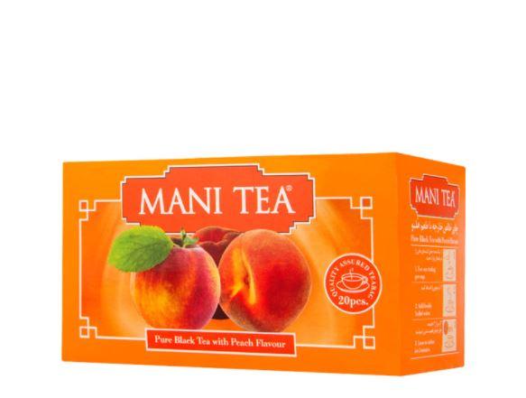 چای هلو کیسه ای مانی