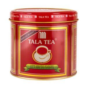 چای کله مورچه ای قوطی فلزی طلا