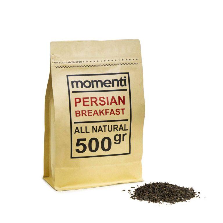 چای سیاه پرشین برکفست مومنتی (۵۰۰ گرمی)