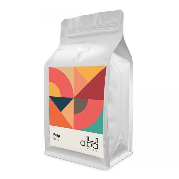 قهوه آلبا ترکیب پالپ – Pulp Blend (250 گرمی)