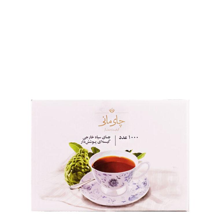 چای عطری کیسه ای هزار عددی مانی